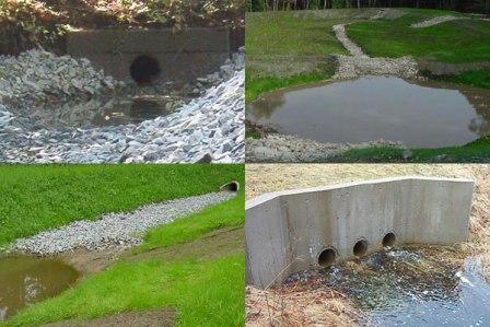 Stormwater management colleyville tx for Stormwater pond design
