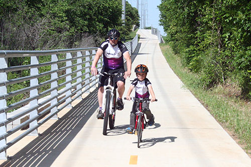 Fence work to impact Cotton Belt Trail