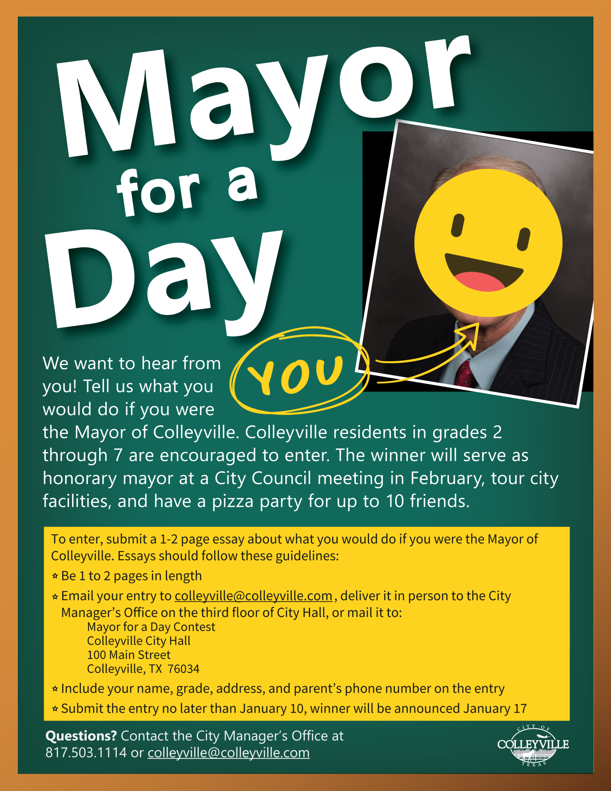 Mayor for a Day 2019-2020