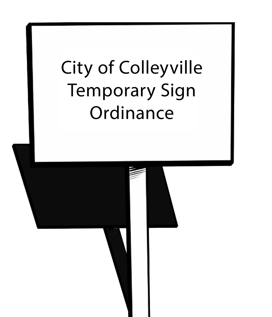 colleyville temporary signs